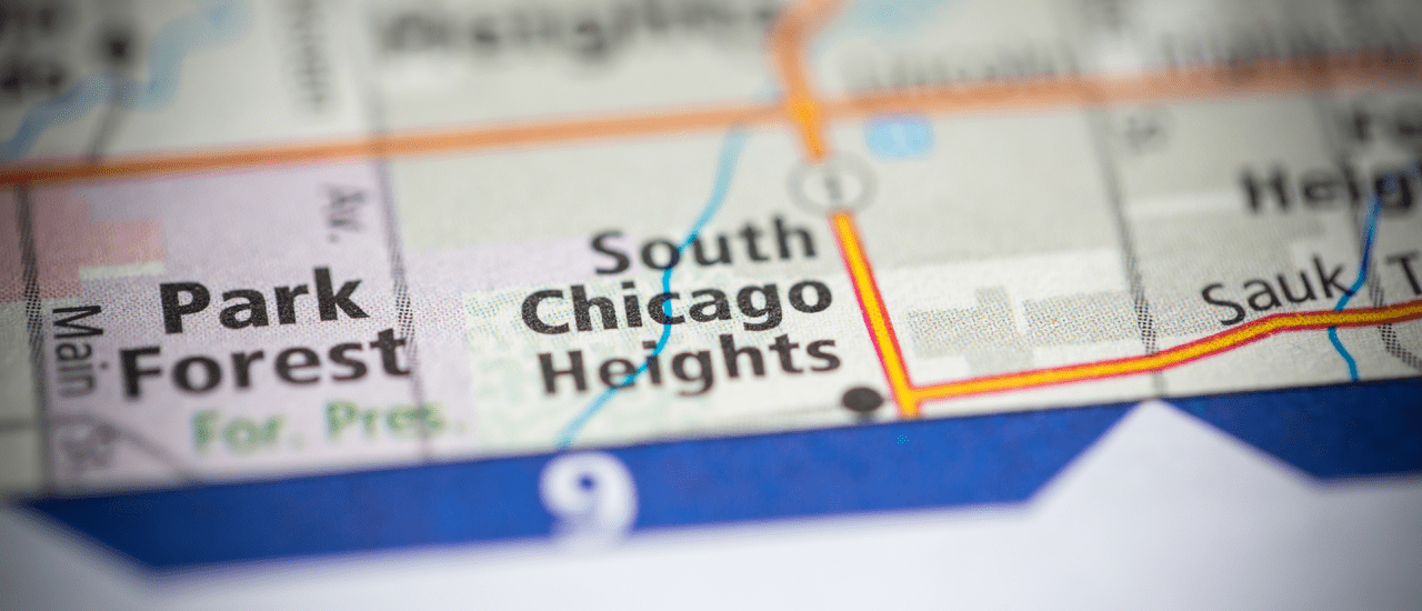 Location - Chicago Heights